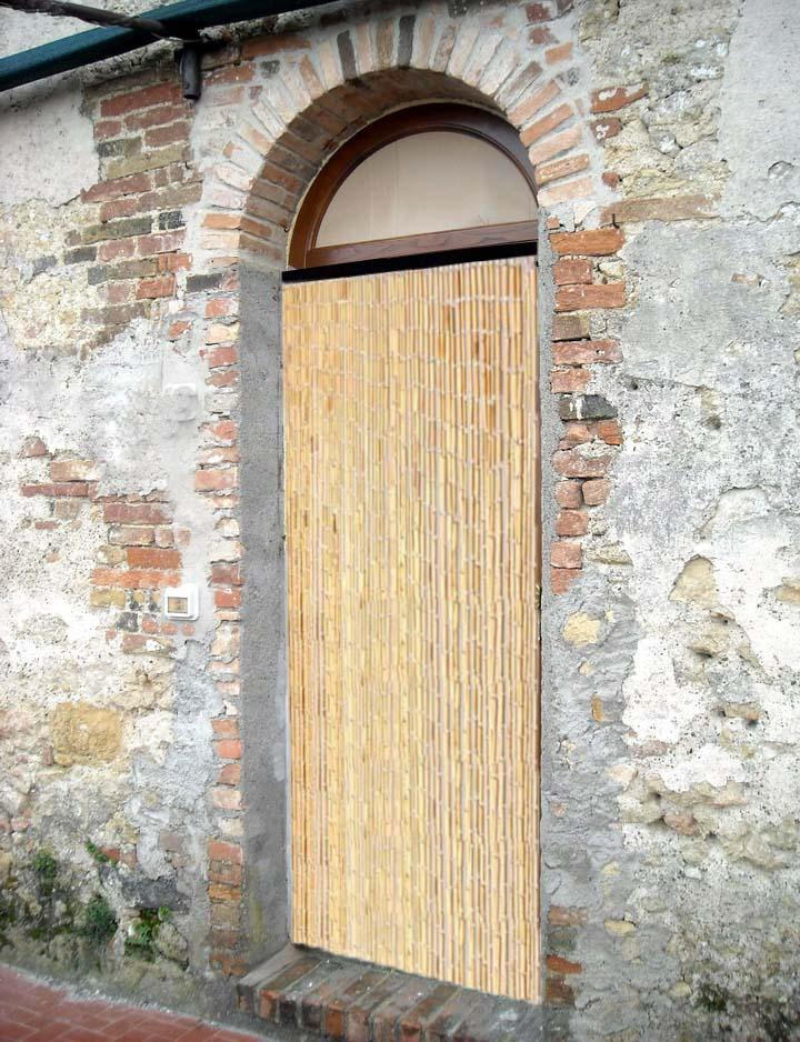 Tende bambu per esterno idee per la casa for Arelle bricoman