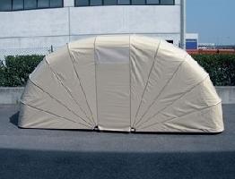 Lamapla produzione e commercio tende e tendaggi da for Garage per auto modulari 3
