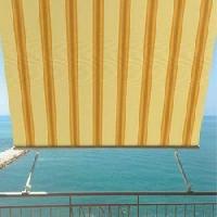 Tenda da sole MILOS con braccetti 300x245