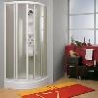 Box doccia PONTE rivestito pvc/vetro cristallo satinato