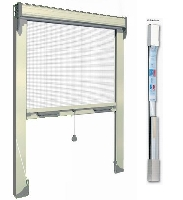 Zanzariera a molla verticale in Kit 160 x 170